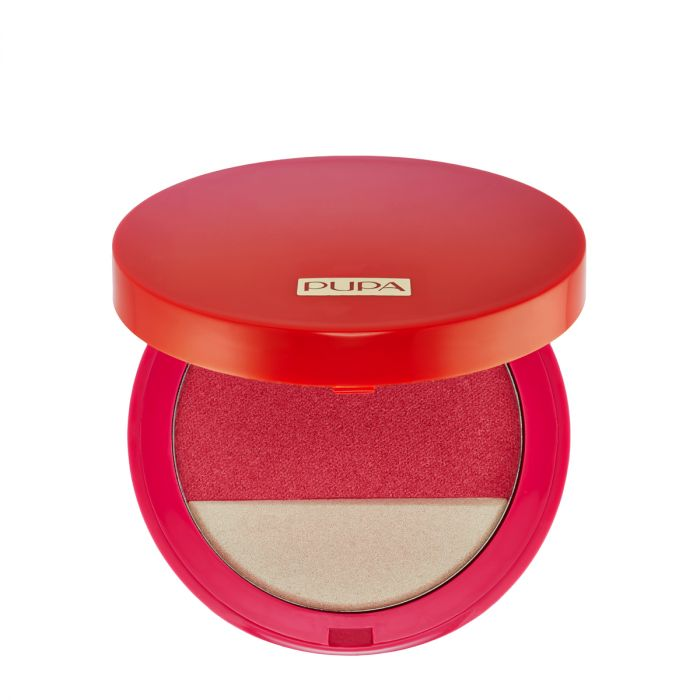 Pupa Sunset Blooming Blush & Highlighter 001